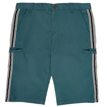 textil Dreng Shorts Ikks MANUELA Blå / Grøn