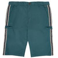 textil Dreng Shorts Ikks MANUEL Blå / Grøn
