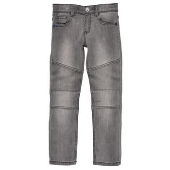 textil Dreng Smalle jeans Ikks COELE Grå