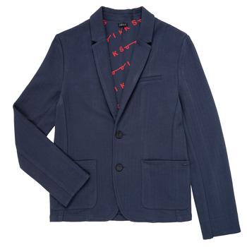textil Dreng Jakker / Blazere Ikks NARIA Marineblå