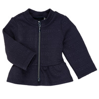 textil Pige Veste / Cardigans Ikks ANE Marineblå
