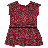 textil Pige Korte kjoler Ikks MAGGIE Grå / Rød
