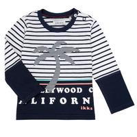 textil Dreng Langærmede T-shirts Ikks LAURA Flerfarvet
