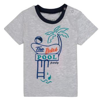 textil Dreng T-shirts m. korte ærmer Ikks LISIANA Grå
