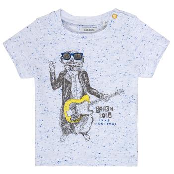 textil Dreng T-shirts m. korte ærmer Ikks MARIO Hvid