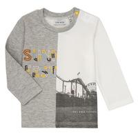 textil Dreng Langærmede T-shirts Ikks MAELINO Grå