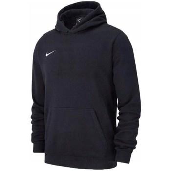 textil Dreng Sweatshirts Nike JR Team Club 19 Fleece Sort