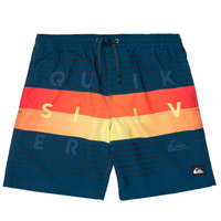 textil Dreng Badebukser / Badeshorts Quiksilver WORD BLOCK VOLLEY YOUTH Blå