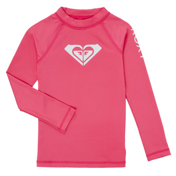 Undertøj Pige  Roxy WHOLE HEARTED SS Pink / Flambe
