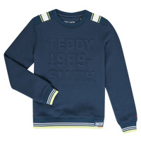textil Dreng Sweatshirts Teddy Smith BENET Marineblå