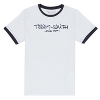 textil Dreng T-shirts m. korte ærmer Teddy Smith TICLASS 3 Hvid
