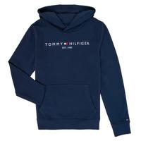 textil Dreng Sweatshirts Tommy Hilfiger KB0KB05673 Marineblå
