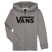 textil Dreng Sweatshirts Vans BY VANS CLASSIC ZIP HOODIE Grå