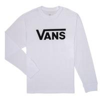 textil Dreng Langærmede T-shirts Vans BY VANS CLASSIC LS Hvid