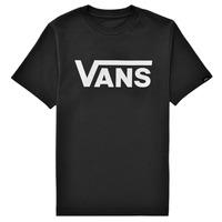 textil Børn T-shirts m. korte ærmer Vans BY VANS CLASSIC Sort