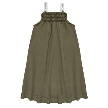 textil Pige Korte kjoler Le Temps des Cerises BIJA Kaki