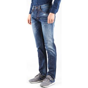 textil Herre Lige jeans Guess Outlaw PF12 M23A68D0OD1 CONN navy