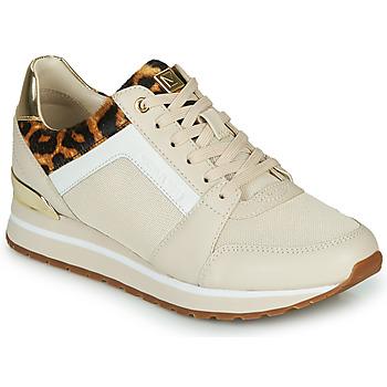 Sko Dame Lave sneakers MICHAEL Michael Kors BILLIE Beige / Leopard