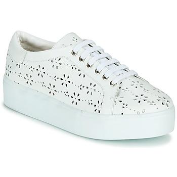 Sko Dame Lave sneakers Cristofoli NALA Hvid