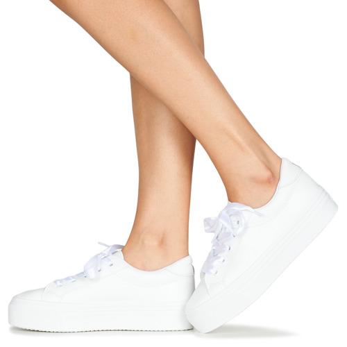 JUNNY  Yurban  lave sneakers  dame  hvid FkVDf