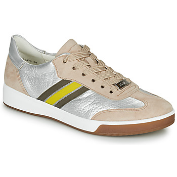 Sko Dame Lave sneakers Ara ROM-HIGHSOFT Sølv / Beige / Gul