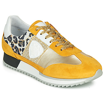 Sko Dame Lave sneakers Philippe Morvan ROCKY2 Gul / Guld