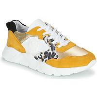 Sko Dame Lave sneakers Philippe Morvan VIRGIL Gul / Hvid
