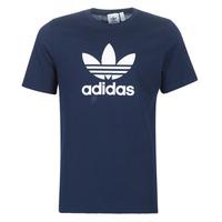 textil Herre T-shirts m. korte ærmer adidas Originals ED4715 Marineblå