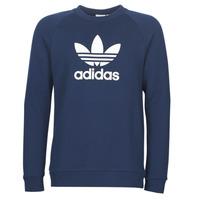 textil Herre Langærmede T-shirts adidas Originals ED5948 Marineblå