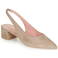 Sko Dame Pumps Pretty Ballerinas ANGELIS SAFARI Beige