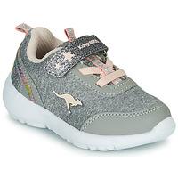 Sko Pige Lave sneakers Kangaroos KY-Citylite EV Grå / Pink