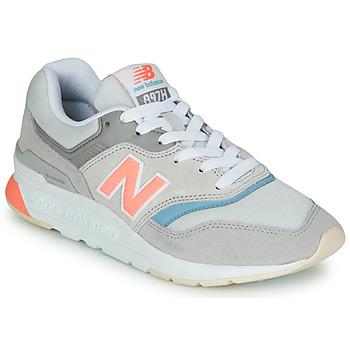 Sko Dame Lave sneakers New Balance 997 Grå / Blå / Pink