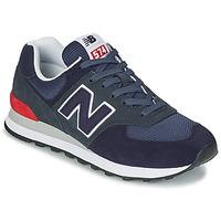 Sko Lave sneakers New Balance 574 Blå