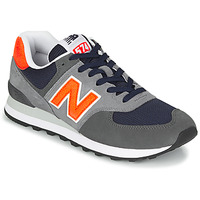 Sko Herre Lave sneakers New Balance 574 Grå / Orange