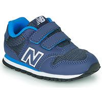 Sko Dreng Lave sneakers New Balance 500 Blå