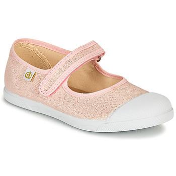 Sko Pige Ballerinaer Citrouille et Compagnie APSUT Pink