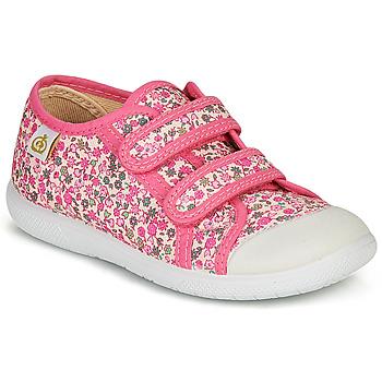 Sko Pige Lave sneakers Citrouille et Compagnie GLASSIA Pink / Flerfarvet