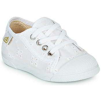 Sko Pige Lave sneakers Citrouille et Compagnie MALIKA Hvid