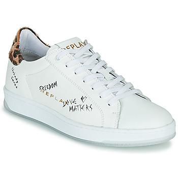 Sko Dame Lave sneakers Replay MELANIA Hvid