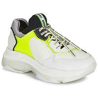 Sko Dame Lave sneakers Bronx BAISLEY Hvid / Gul