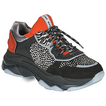 Sko Dame Lave sneakers Bronx BAISLEY Sort / Orange