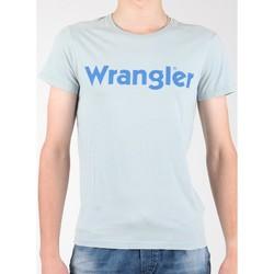 textil Herre T-shirts m. korte ærmer Wrangler S/S Graphic Tee W7A64DM3E grey