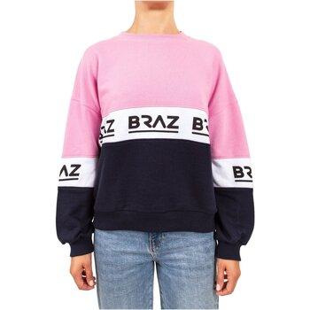 textil Dame Sweatshirts Braz 120972TSH Pink