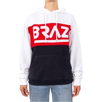 textil Dame Sweatshirts Braz 120974TSH Hvid