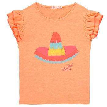 textil Pige T-shirts m. korte ærmer Billieblush / Billybandit NORE Orange