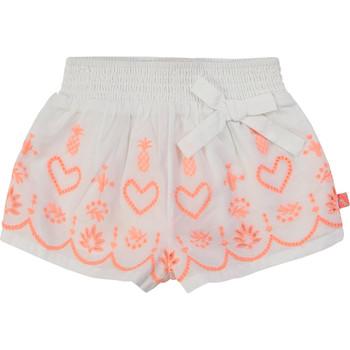 textil Pige Shorts Billieblush / Billybandit NEYO Hvid
