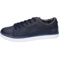 Sko Herre Lave sneakers Armata Di Mare sneakers pelle sintetica Blu