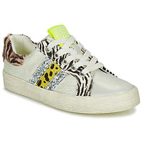 Sko Pige Lave sneakers Gioseppo TIRRENIA Hvid / Gul / Sølv