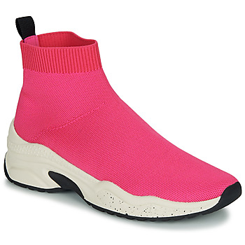 Sko Dame Høje sneakers André HARUNA Pink