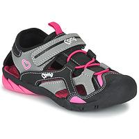 Sko Pige Sportssandaler Primigi 5460011 Sort / Pink
